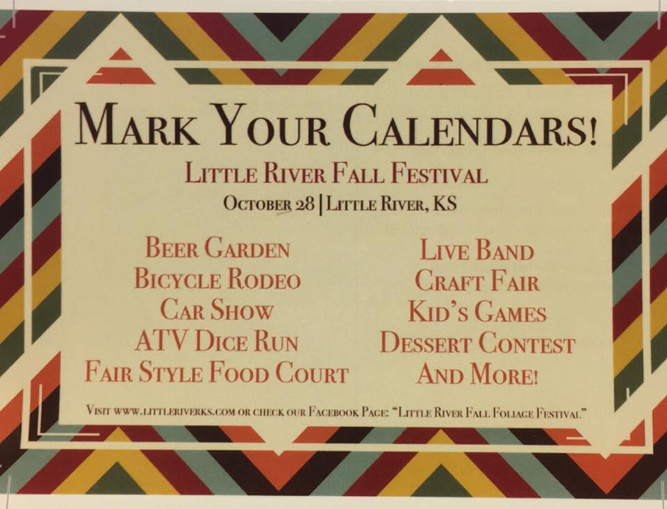 Fall Festival @ Main St. Little River, KS